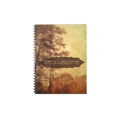 Be Awesome Notebook