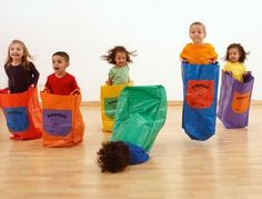 Five out of six kids love sack races.     I wish this hadn't made me laugh so hard when I first saw it. I'm not a good person.