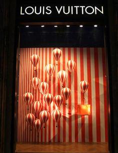 Louis Vuitton - Schaufenster Lampen