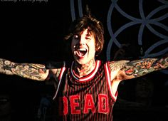 Oliver Sykes of Bring Me the Horizon, Warped Tour