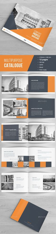 Buy Modern Architecture Brochure by on GraphicRiver. Multipurpose Brochure / Catalogue Template This is 12 page minimal brochure / catalogs template is for designers work. Web Design, Graphic Design Layouts, Freelance Graphic Design, Graphic Design Inspiration, Layout Design, Brochure Indesign, Template Brochure, Brochure Layout, Corporate Brochure