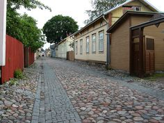Rauma, Finland View Image, Old Houses, Finland, Searching, River, Architecture, Photos, Arquitetura, Pictures
