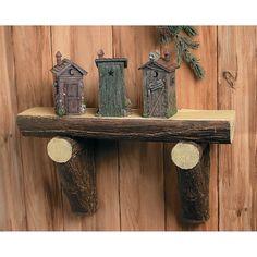 Outhouses - OrientalTrading.com...i like the shelf