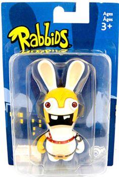 "Rayman Raving Rabbids - Gladiator Figurine 3.5"" figures"