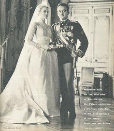 Maureen is a Champ Grace Kelly Wedding, Princess Grace Kelly, Princess Diana, Jeanette Macdonald, Princess Kate Middleton, Prince Rainier, Monaco Royal Family, Period Costumes, Royal Weddings