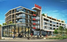 Building Exterior, Building Design, Vancouver Real Estate, New Urbanism, All In The Family, Luxury Condo, Cool Apartments, Real Estate Development, Condos For Sale