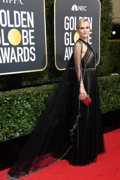 Actor Diane Kruger attends The 75th Annual Golden Globe Awards at The Beverly Hilton Hotel on January 7 2018 in Beverly Hills California
