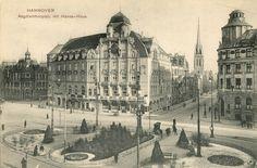 Hannover. Aegdienthorplatz mit Hansa-Haus