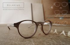 Hilarius – handmade glasses of wood frames made in Poland.