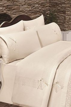 Evlen Home & Alanur Home Collection - Çift Kişilik Ipek Havlulu Gelin Seti TİV0061 %33 indirimle 459,99TL ile Trendyol da