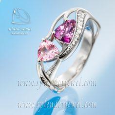 Splendor – Egyedi arany, ezüst és gyémánt ékszerek tervezése - Jegygyűrűk