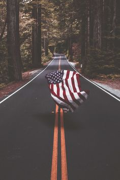 USA FLAG - they should definitely go all out for the fourth of july and have their own private celebration or have a little picnic where ever they are for the tour.