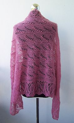 Ravelry: dagny14's Lily of the Valley Shawl