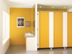 Vách ngăn dành cho nhà vệ sinh thời hiện đại