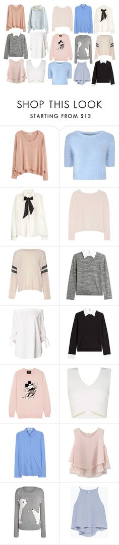 """Style Steal:Marzia Bisognin-Tops"" by emnicole9 ❤ liked on Polyvore featuring MANGO, Glamorous, H&M, Banjo & Matilda, Steffen Schraut, TIBI, Markus Lupfer, BCBGMAXAZRIA, Jil Sander and Chicwish"