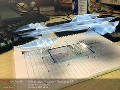 Aujourd'hui on évoque de plus en plus la future génération de smartphones équipés d'écran flexible ou transparent. Partant de cette logique il est normal de voir apparaitre sur la toile de nombreux concepts.   Parmi eux il y a SURFACE N, un modèle futuriste sous Windows Phone embarquant les dernières technologies, notamment un écran transparent, projecteur holographique, camera Lytro avec capture video 4K, cartographie 3D, et bien plus encore.  L'ensemble offre un design emprunté ...