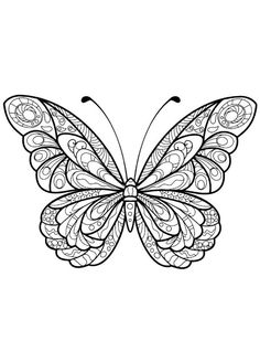 Adult Butterfly Coloring Book Cool Stuff Coloring Pages