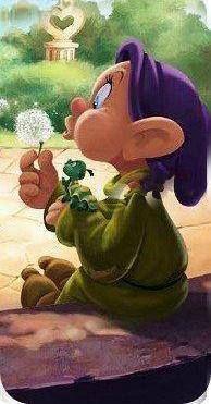 *DOPEY ~ Snow White and the Seven Dwarf's, 1937 - coolstuff Walt Disney, Disney Art, Disney Pixar, Disney Characters, Disney Images, Disney Pictures, Disney Tattoos, Disney And More, Disney Love