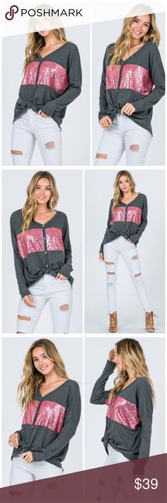 Ambitious Victoria's Secret Pink Gray Sweat Pants With Sequins Xs Skilful Manufacture Activewear Bottoms