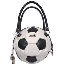 A gift for the ultimate soccer mom: Leather soccer ball handbag! 2011 $79.95