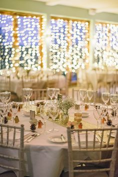 Beautiful Winter Bellinter House Wedding by Chris Copeland Photography // www.onefabday.com