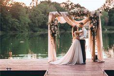 Diy wedding flower arch decoration ideas