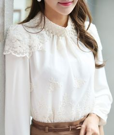 Blooming Laced Blouse -- $ 51.25
