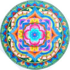 Intuitive mandala by Fija https://www.facebook.com/pages/Healthy-Vibrant-You/381747648567846