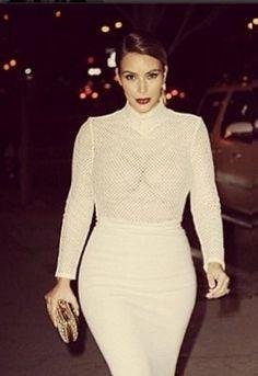 Kim Kardashian craque pour la créatrice belge Véronique Leroy