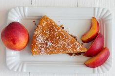 veganer Nektarinen-Topven-Kuchen