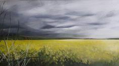 Rapeseed fields in Shropshire 2017 Melissa Von Brughan Oil on canvas Rapeseed Field, Fields, Oil On Canvas, Decor Ideas, Artwork, Painting, Work Of Art, Auguste Rodin Artwork, Painted Canvas