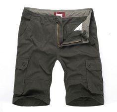 man plus size shorts men:MAX waist 117CM 30-40 42 44 46 L-XXXL 4XL 5XL 6XL summer 2014 male loose overalls men's trousers