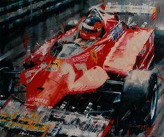 Gilles Villeneuve, 1981, Ferrari 126 CK Turbo