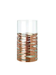 Tangle Vase In Copper or Rose Gold by Stelton Voss Bottle, Water Bottle, Or Rose, Rose Gold, Home Decor Sale, Tea Light Holder, Tangled, Tea Lights, Shot Glass