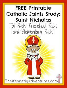 Saint Nicholas Printables for children