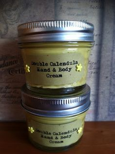 Fresh Picked Beauty: Double Calendula Hand & Body Cream