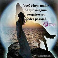 Resgate o seu poder pessoal, só depende de você.  Visite o nosso site http://totalmentemulher.com.br/