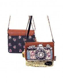 Disaster Designs Ditsy Mini Camera and Floral Bag