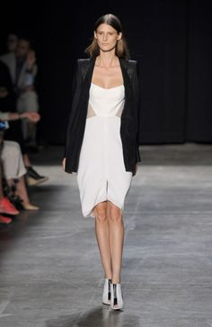 Narciso Rodriguez Runway Show at the Spring 2013 Mercedes-Benz Fashion Week