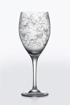 ARTĚL Finch Wine Goblet in Clear Crystal