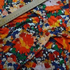 Tropical Print Liberty Viscose Lycra Jersey Fabric