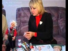 Мастер класс Авторская кукла Марины Зиминой часть1
