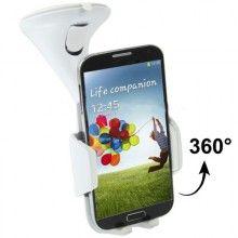 Soporte Auto Smartphone - Ventosa Blanco $ 110,00