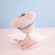 Amigurumi crochet cute pig Pippa the pig by BubblesAndBongo