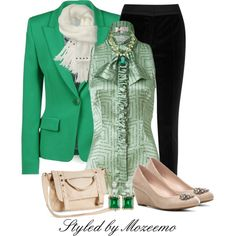 Smart Pants Outfit, created by mozeemo on Polyvore
