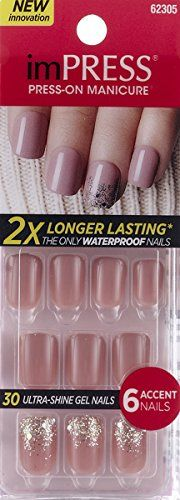 "**NEW 2015** KISS 2x Longer Lasting imPRESS ""HARLEM SHAKE"" by Broadway Press-On Manicure Nails"