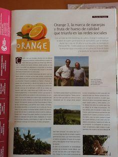 Revista Mercados donde aparecemos con Orange3