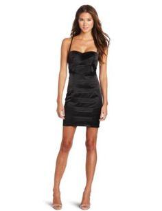 Simpley Sexy Little Black Mesh Insert Pleated Dress   $68    #Little Black Dress #Evening Dress #Gown #Homecoming Dress #Dresses