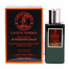 Castle Forbes Cedar and Sandalwood Aftershave Balm - Fendrihan Canada - 1