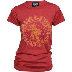 Junk Food Cleveland Cavaliers Women's Heathered T-Shirt